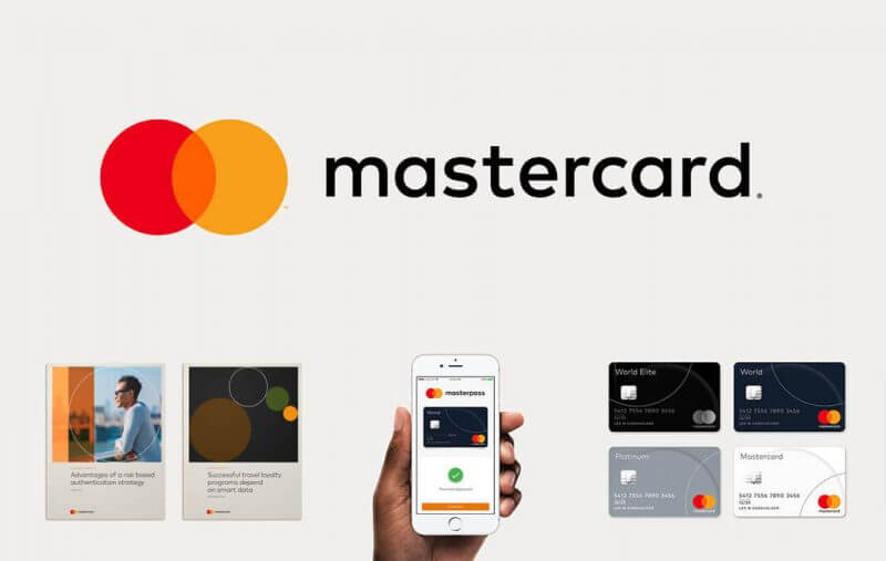 The Mastercard logo gets a simplistic redesign  LITTLE