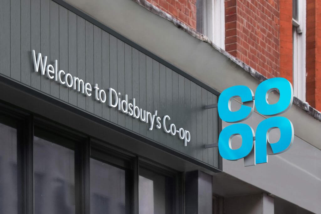 co op sign