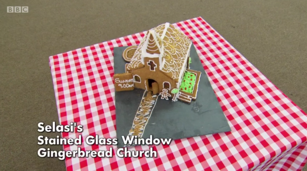 We all wish we could marry him in his gingerbread church showstopper