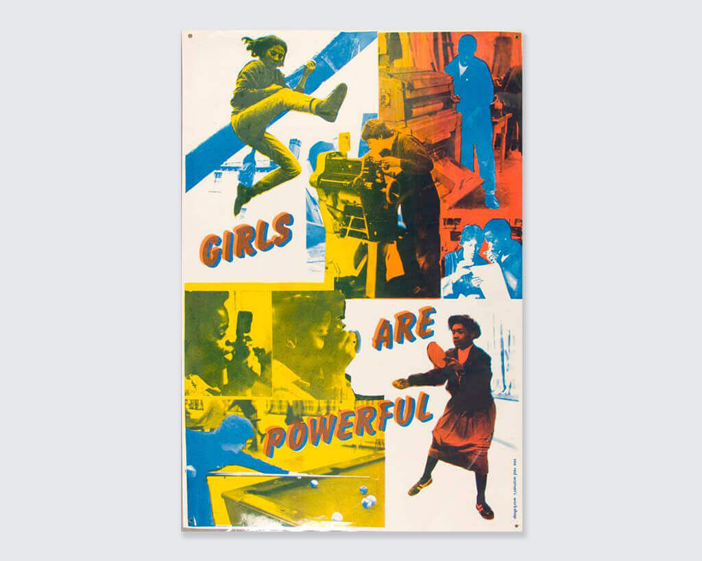 girls are powerful poster