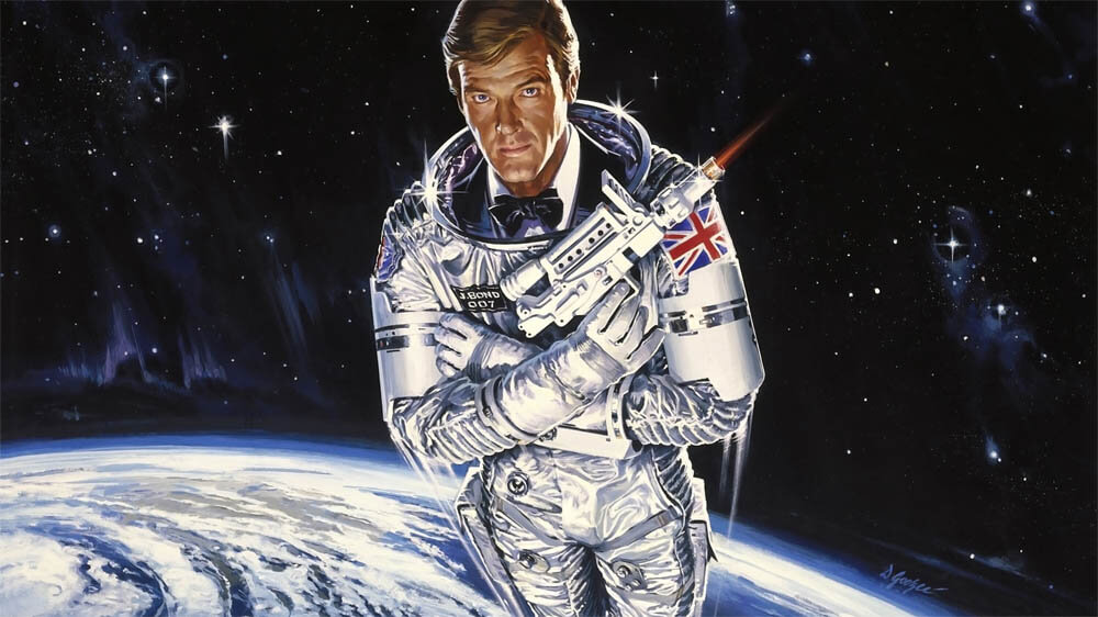 Roger Moore in Moonraker