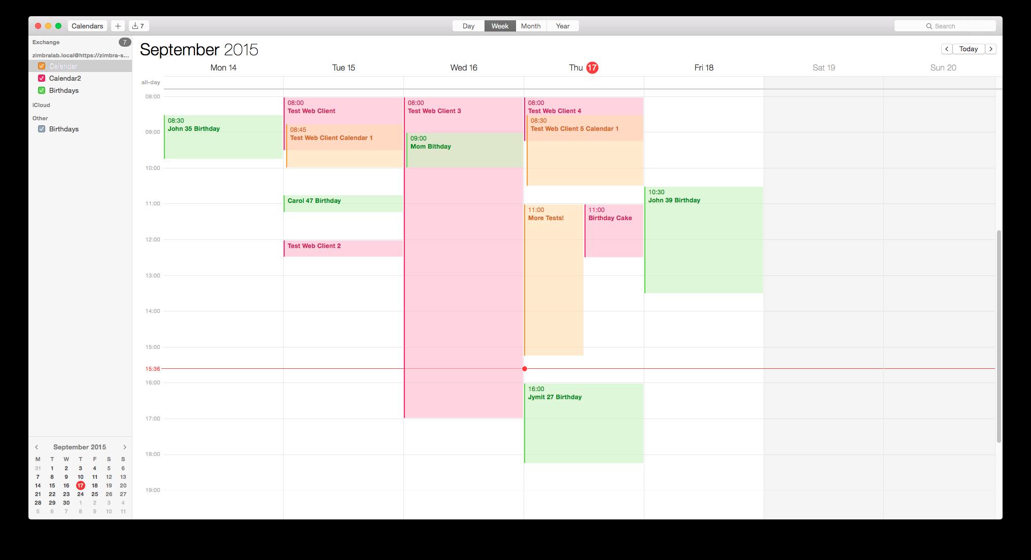 I calendar