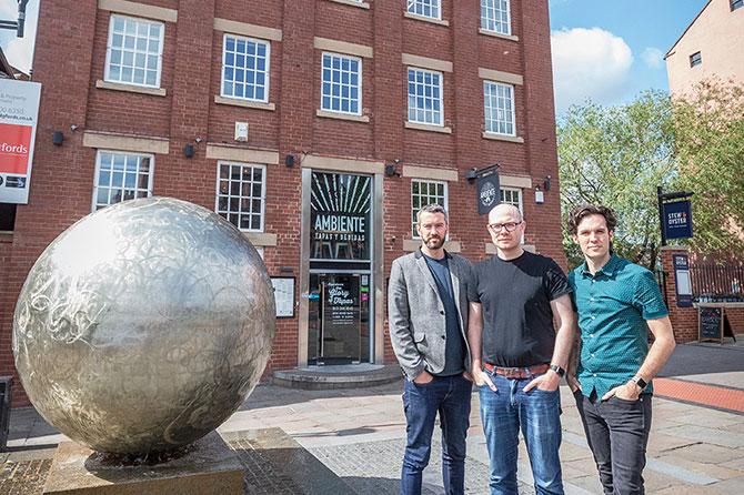 Directors Mark, Ian and Chris