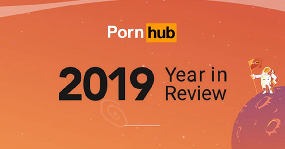 PornHub's 2019 'Year in Review'